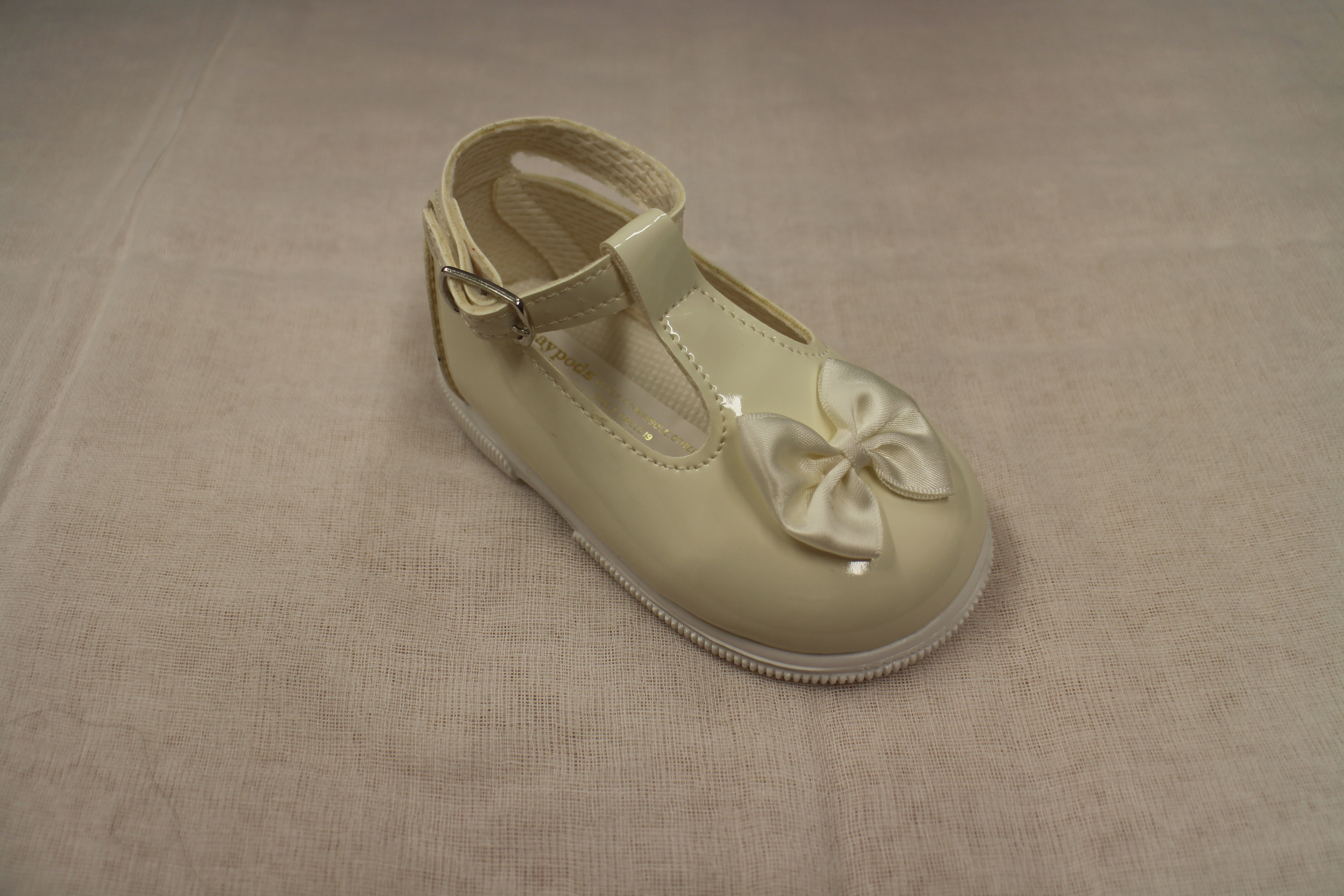 Girls Hard Sole Occasion Baby Shoes